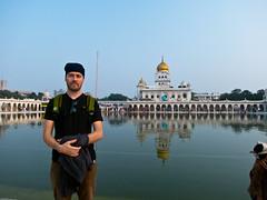 Me @ Gurudwara Bangla Sahib