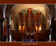 Orgue d'Antoine Gobert (1725) dans l'église paroissiale de Maroilles (Nord) - Gobert-Orgel in der Pfarrkirche von Maroilles (Nord)
