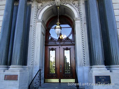Hotel du Parlement front door