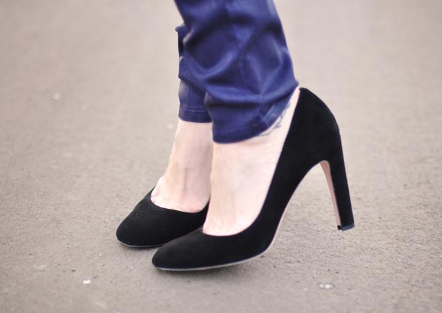 jean michel cazabat black heels-purple hudson jeans