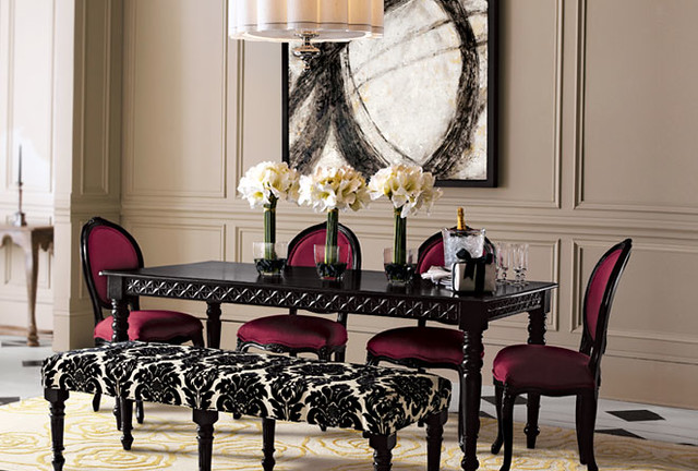 Brocade Dining Room