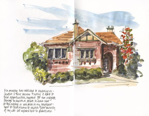 111130 Sydney Red Brick House 1 by borromini bear