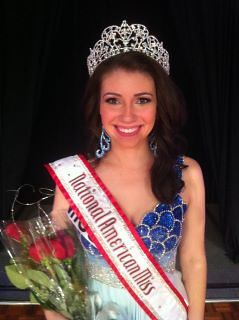 National American Miss Rachael Landis of Missouri
