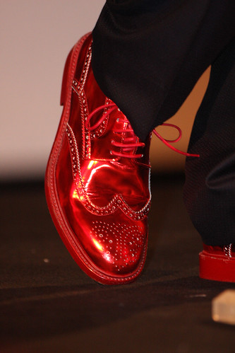 Elton John shoe by Eva Rinaldi Celebrity and Live Music Photographer