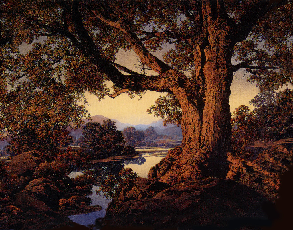 the early life influences of maxfield parrish Maxfield parrish : biography july 25, 1870 - march 30, 1966 maxfield parrish (july 25, 1870 – march 30, 1966) was an american painter and illustrator active in the first half of the 20th century he is known for his distinctive saturated hues and idealized neo-classical imagery.