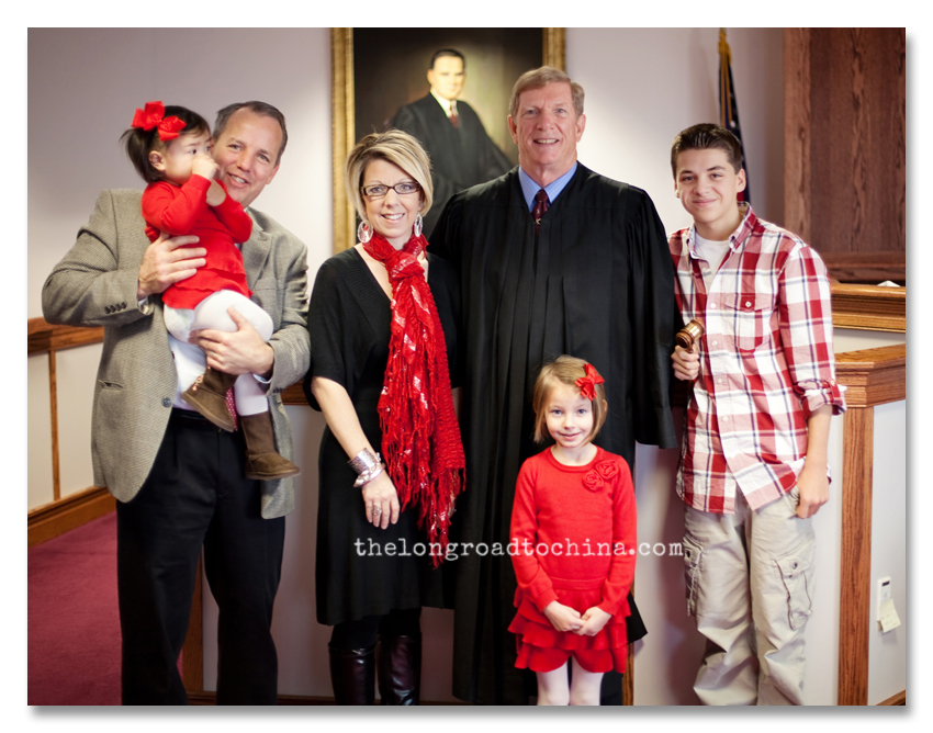 Family Photo With The Judge CROP BLOG