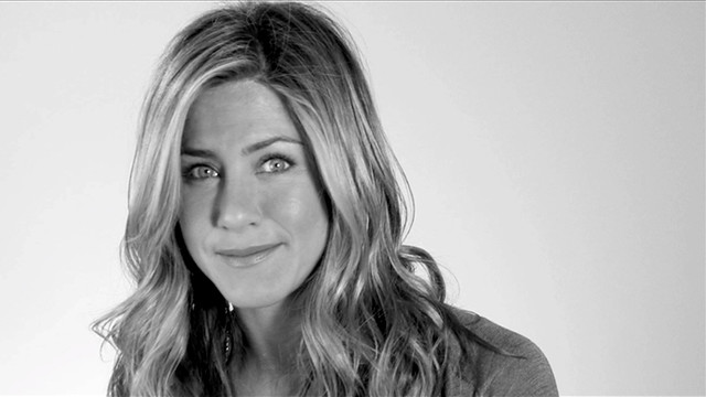 Jennifer Aniston during our shoot for