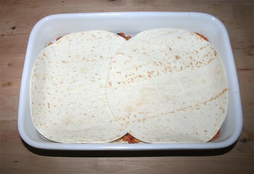 35 - Weitere Schicht Tortillas