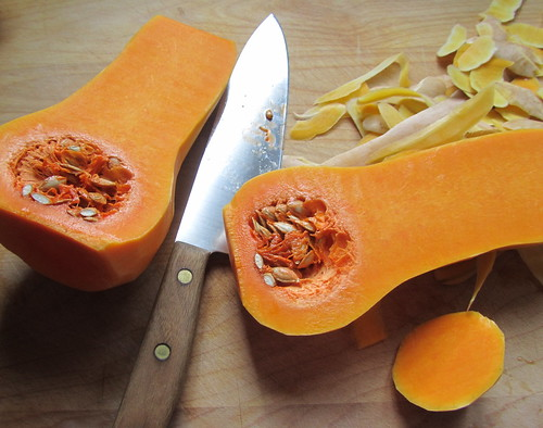 Halved Butternut