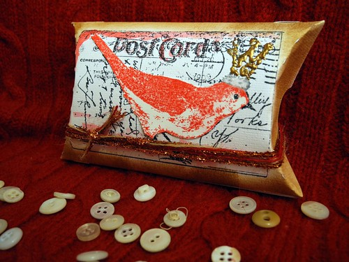 Post Card Pillow Box