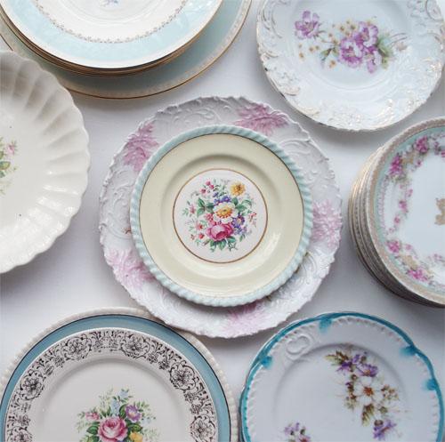 Pretty Shabby Plates