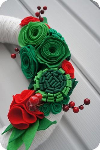 Felt Wreath