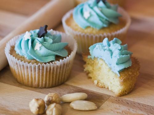 Cupcakes nocciole e mandorle