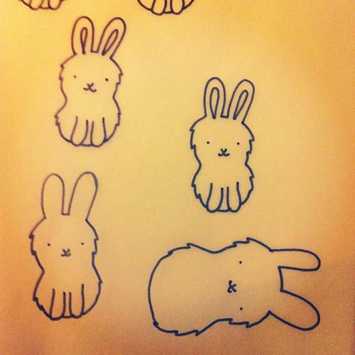 Bunny art.