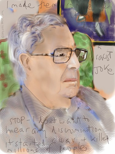 Ken Colvin, Liberator: iPad Portrait by DNSF David Newman