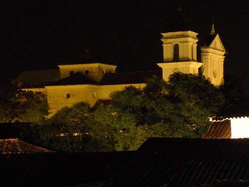church colombia cathedral colonial catedral iglesia chiesa igreja co andes nightview eglise antioquia vistanocturna santafedeantioquia arquitecturaespañola