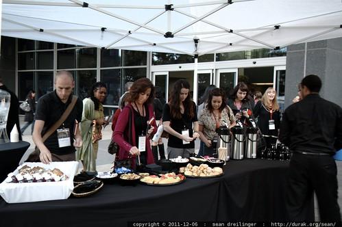 reception   TEDx San Diego 2011    MG 3417