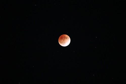 Lunar Eclipse & Stars