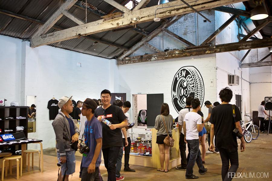 Zen Garage Grand Opening