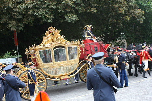 Carruagem de ouro - Prinsjesdag