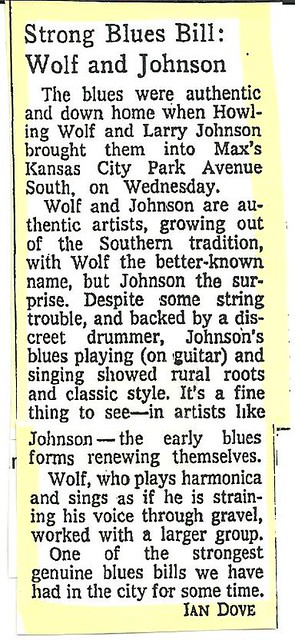 06-01-73 Wolf-Johnson @ Max's Kansas City