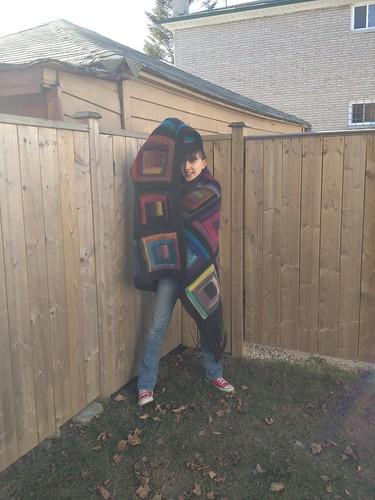Emma and blanket