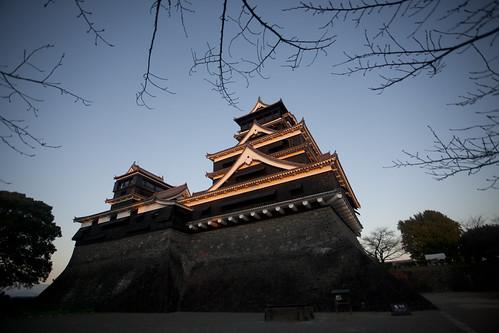 travel castle tourism japan destination chateau japon kumamoto kyushu