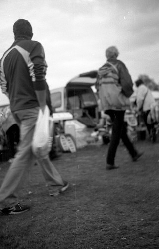Car Boot, Fogged Film, From The Hip