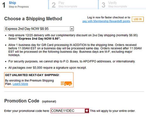 American Express Fee-Free Code
