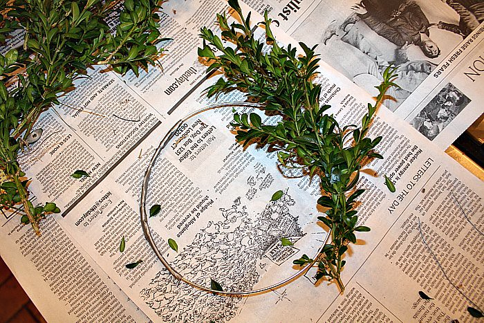 Boxwood Wreath 007