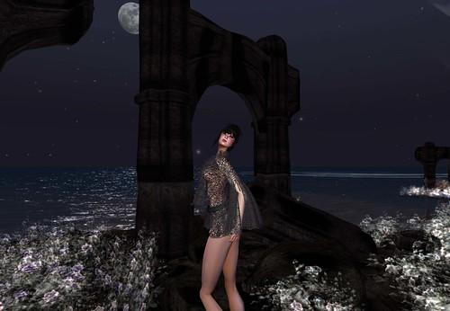 Alchemy Elisa Black dress by Cherokeeh Asteria