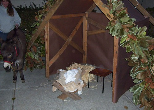 "The ""stable"" and a manger"