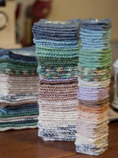 Babette Blanket - process
