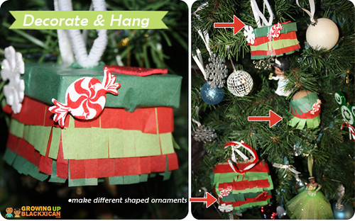 posada pinata ornaments :decorate and hang