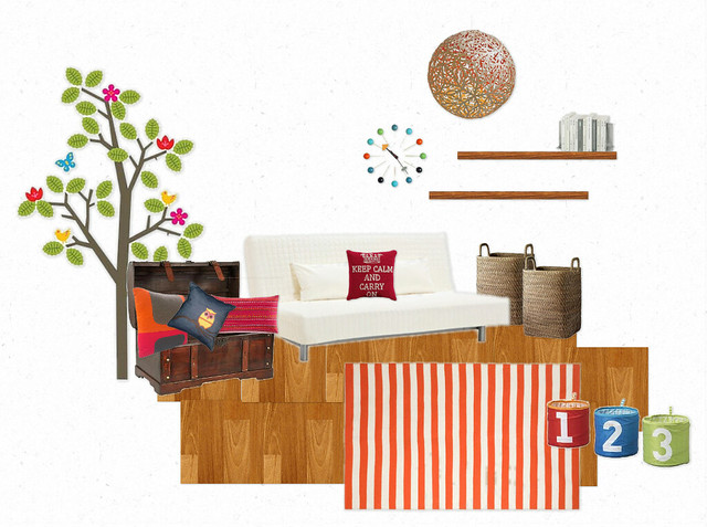Redecorate #2.2: Una stanza in due