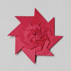 Stacked Throwing Star