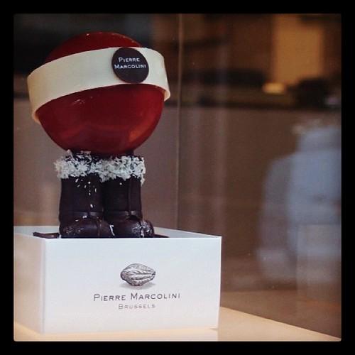 超可愛的聖誕巧克力擺飾•Pierre Marcolini