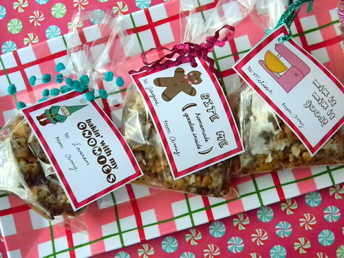 holiday baking labels