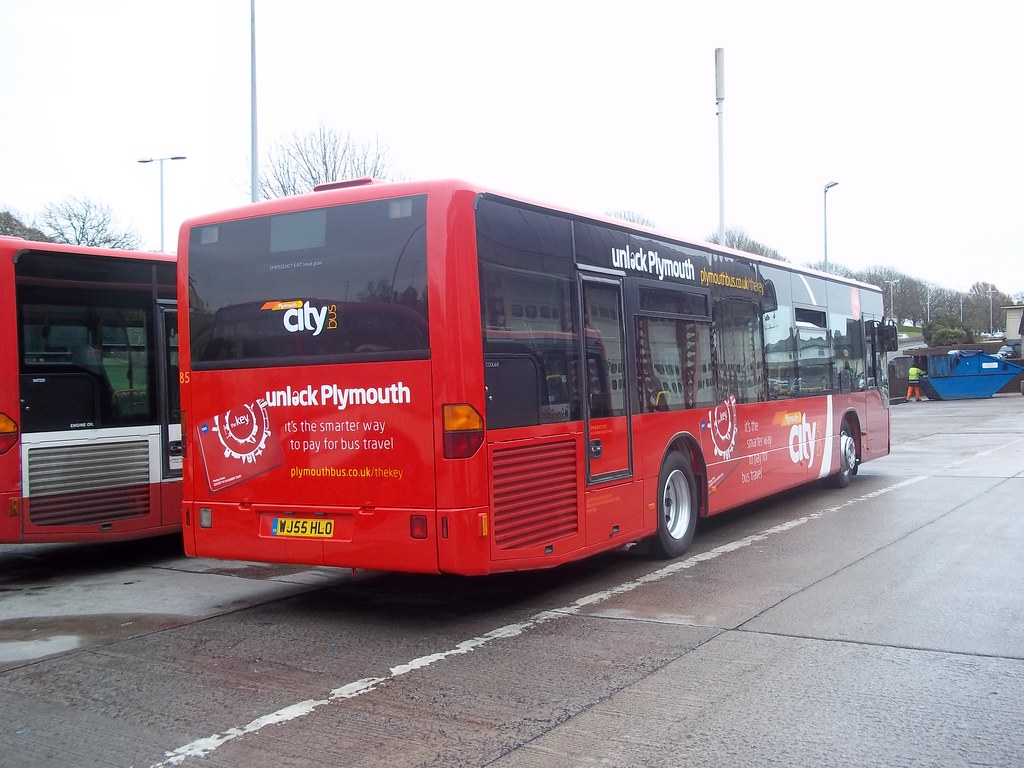 Plymouth Citybus 085