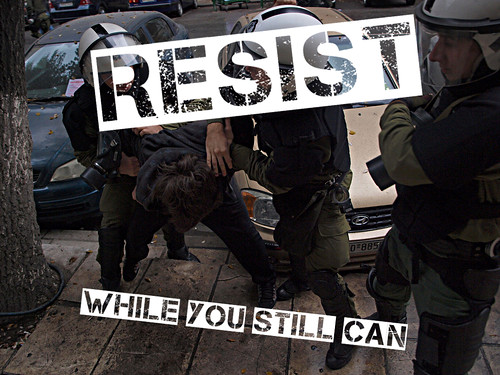 Resist: While you still can. by Teacher Dude's BBQ