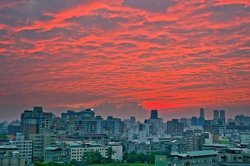 sunset clouds taiwan 日落 台中市 taichungcity sonya850 song2470za