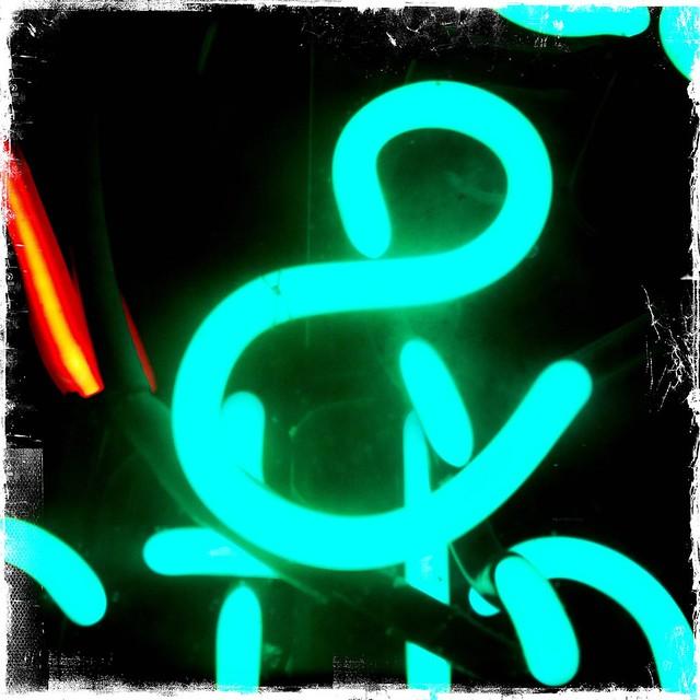 neon ampersand flickr photo sharing