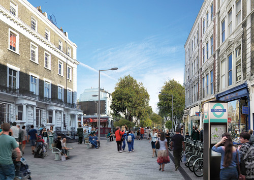 Rebuilding Place In The Urban Space Pro Pedestrian Road