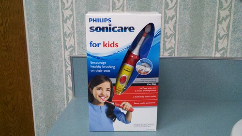 Kids Sonicare toothbrush. Tigard TenderCare Dental 11565 SW Hall Blvd, Tigard, OR 97223 (503)670-7088