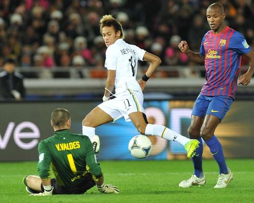 Neymar tak mampu taklukan Valdes