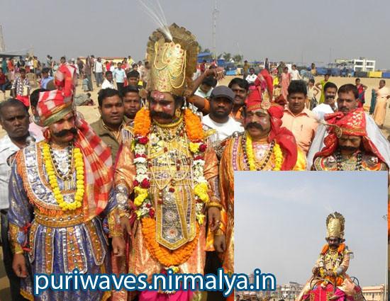 Prabala Pratapi Kansh Maharaj is at Puri