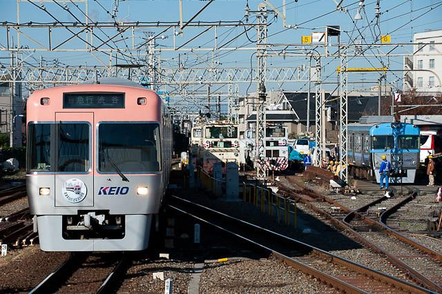 京王電鉄井の頭線1000系 1031F