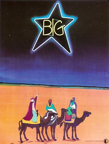 "1970s Big Star-themed ""Seasons Greetings from Ardent Records"" poster by ⓑⓘⓡⓒⓗ from memphis"