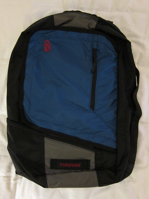 Q Backpack 2011 - Front View