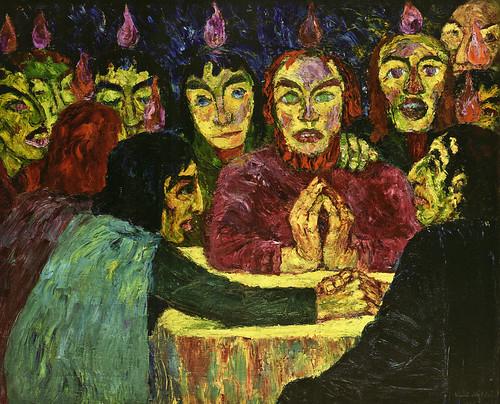 [ N ] Emil Nolde - Le Pentecote (1909) by Cea.